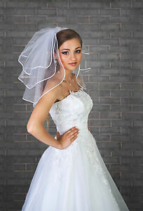 Wedding-Plain-Veil-Satin-Edge-Comb-Attached-VL-47