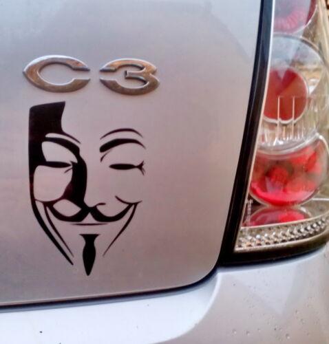Sticker Autocollant ANONYMOUS V Vendetta