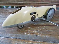 1970's Russian record attempt tether race car MK 17 soviet diesel engine 14 inch