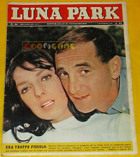 LUNA PARK 1962 n. 44 Charles Aznavour, Marie Laforet, Alida Chelli, Masiero