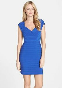 c81169c7 Adrianna Papell Pleated Jersey Sheath Dress 2p for sale online | eBay