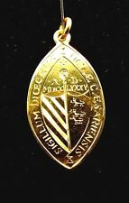 14K GOLD INGOT *BISHOPS MEDAL of HONOR * NEW JERSERY* HEAVY * HAND ENGRAVED