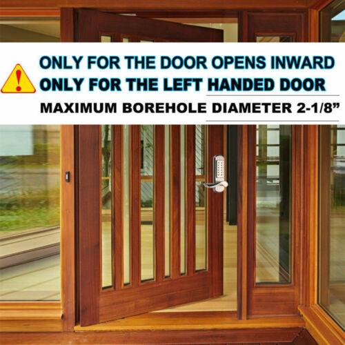 Combination Mechanical Door Lock Keyless Keypad Digital Code Entry handle door