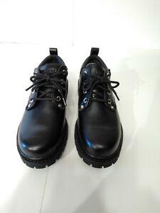 Skechers Mens Size 10 Black Leather