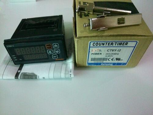 1pcs New Autonics Counter CT6Y-I2