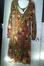 WOMENS SIGNATURE BY ROBBIE LEE LINED DRESS  SIZE 22W BELKS  $47.98 LOVELY