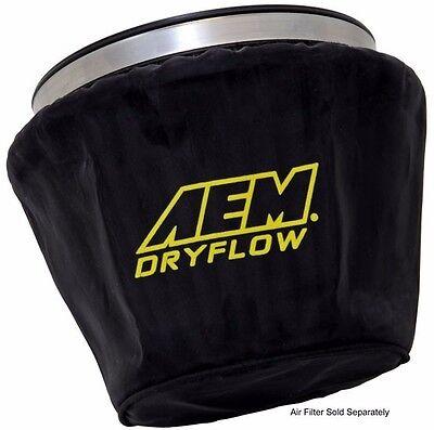 "AEM Air Filter Wrap Black 7.5/"" Length x 5/"" Width x 5/"" Height 1-4002"