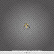 07333 Battaglin Bicycle Head Badge Sticker - Decal - Transfer