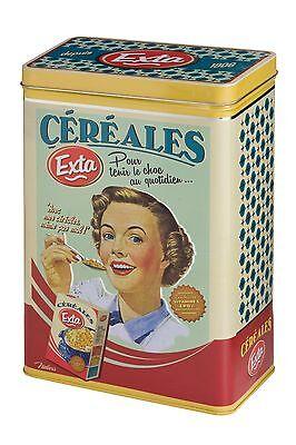 Metall Dose Blechdose Vorratsdose Cerealien Extra Vintage Retro  Natives