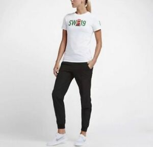 Nike-Women-039-s-Roger-Federer-Emoji-Face-Tennis-Shirt-NEW