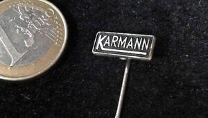 Karmann Tuning Anstecknadel Badge alt selten - Nauheim, Deutschland - Karmann Tuning Anstecknadel Badge alt selten - Nauheim, Deutschland