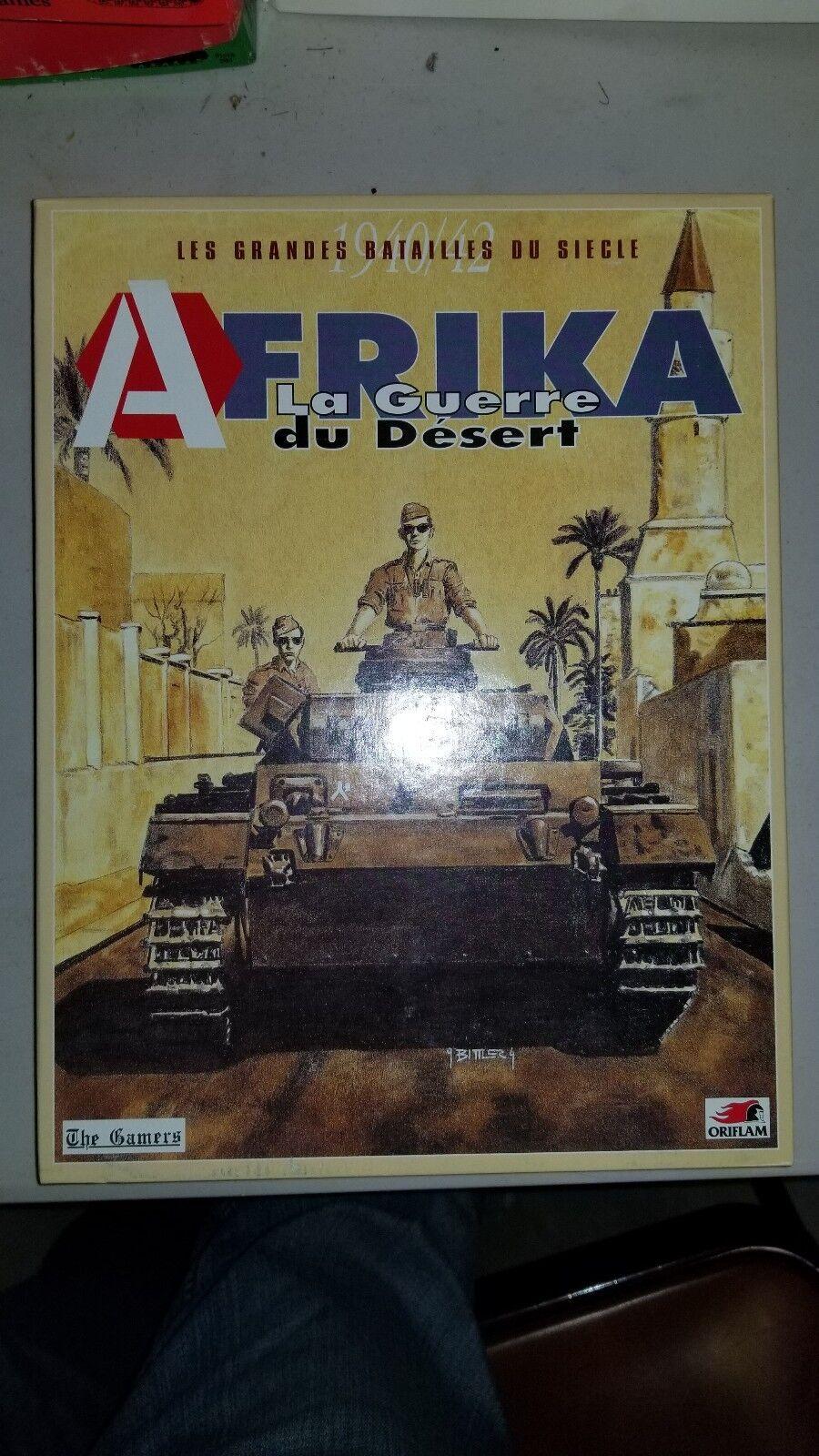 Afrika La  Guerre du désert Les grandes batailles du SEICLE 1940 à enlever les joueurs  100% garantie de prix