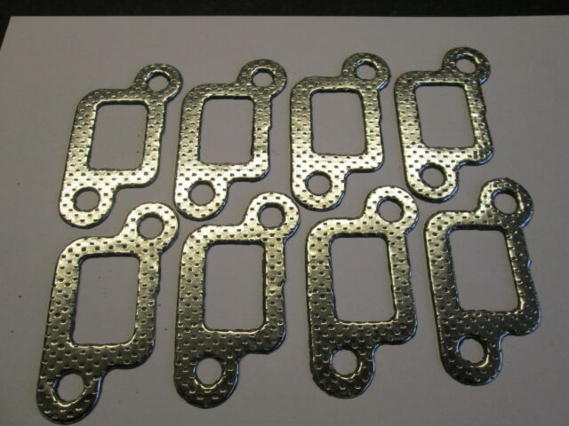 ROVER P6 3500 V8, EXHAUST MANIFOLD GASKETS SET OF 8