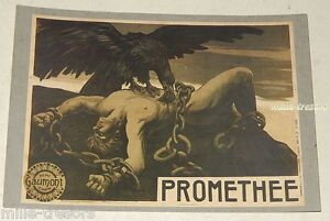 CP-PROMETEE-de-1908-Film-de-Louis-FEUILLADE-Collection-GAUMONT-RAMSAY