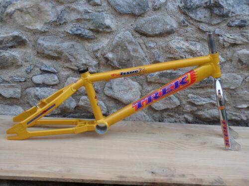 Old school BMX 98 – VERY RARE NOS FRAME Aluminum – TREK Pro Issue XL - Fork 4130