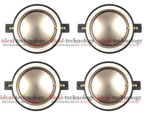 4pcs Diaphragm for Yorkville DE750 7403 Driver TX4 EF508 TX8 E2512