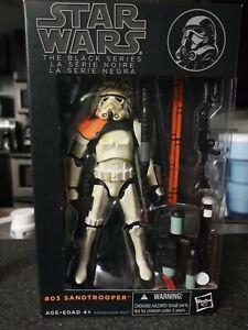 Hasbro Star Wars The Black Series 1 Sandtrooper Orange Line #3