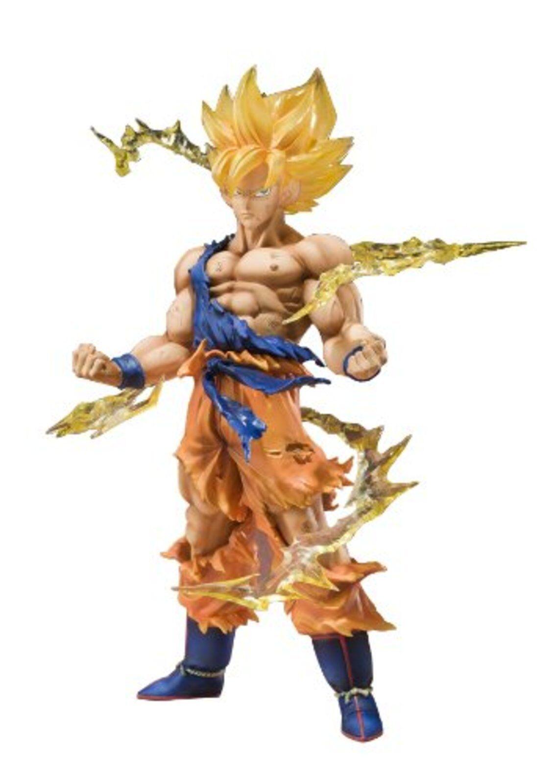 Figuarts Zero Dragon Ball Kai Super Saiyan Figlio Goku Statuetta F S W