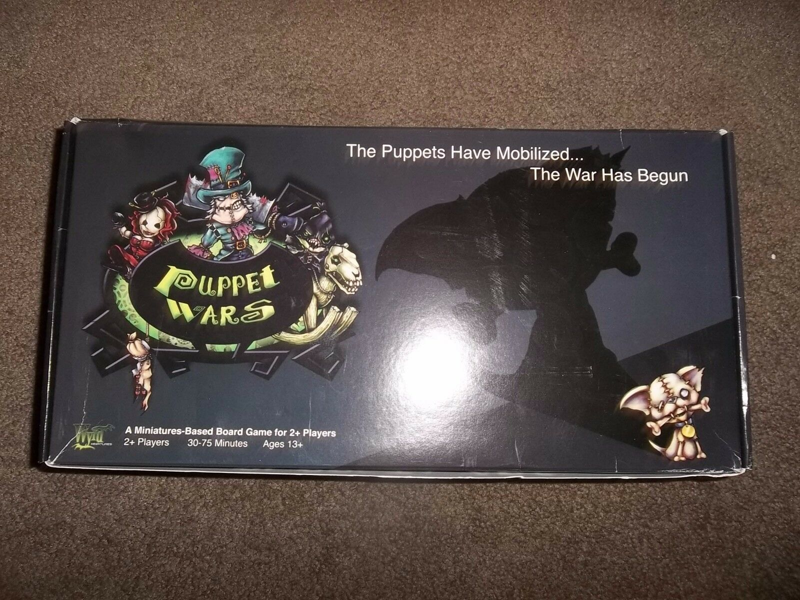 Wyrd Miniatures Puppet Puppet Puppet Wars Board Game 1st Edition 3df67e
