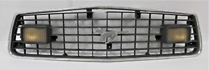 1970-039-s-Ford-Mustang-Grille-With-Lights-Needs-Work-Cannot-Guarantee-Which-Model