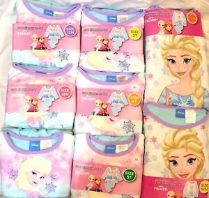 Disney-Frozen-2Pc-Sleepwear-Kids-Girls-Flannel-Sleep-Pajamas-Elsa-Baby-Nightwear