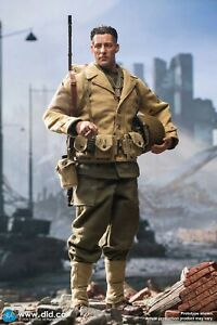 DID A80141 WWII US 2nd Ranger Battalion Private First Class Reiben 1//6 Figure