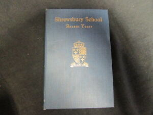Good-Shrewsbury-School-Recent-Years-Pendlebury-W-J-and-1934-Wilding-an