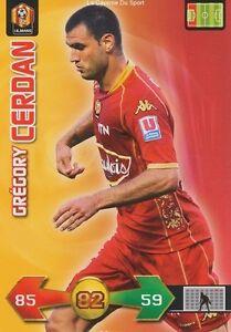 GREGORY-CERDAN-FRANCE-LE-MANS-UC-MUC-CARD-CARTE-PANINI-ADRENALYN-FOOT-2010