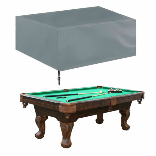 Pool Table Heavy Duty Dust Cover Waterproof Billiards Table Cover 7ft//8ft//9ft