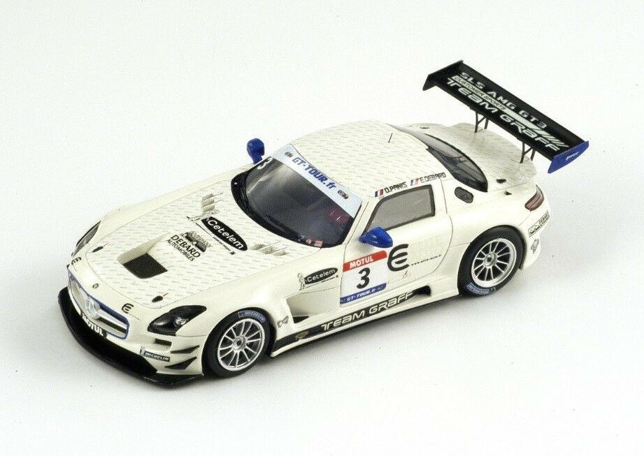 Mercedes Benz SLS GT3  3 Debard-Panis  GT  Tour  2011 (Spark 1 43   SF021)  qualité garantie