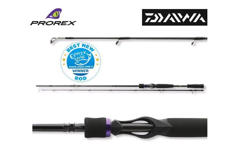 DAIWA PROREX XR Baitcast Rods - 180cm 195cm 210cm 240cm 255cm