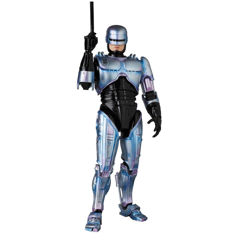 MEDICOM giocattolo MAFEX No.074 Robocop 2 azione cifra w Tracre nuovo