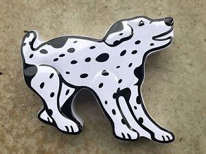Dalmatian Dog Shaped Tin WILLIAMS SONOMA Peppermint Bark Tin EMPTY 2019