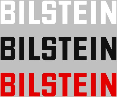 Bilstein Suspension Shocks Struts Car Vinyl Decal Sticker Choose Color//Size