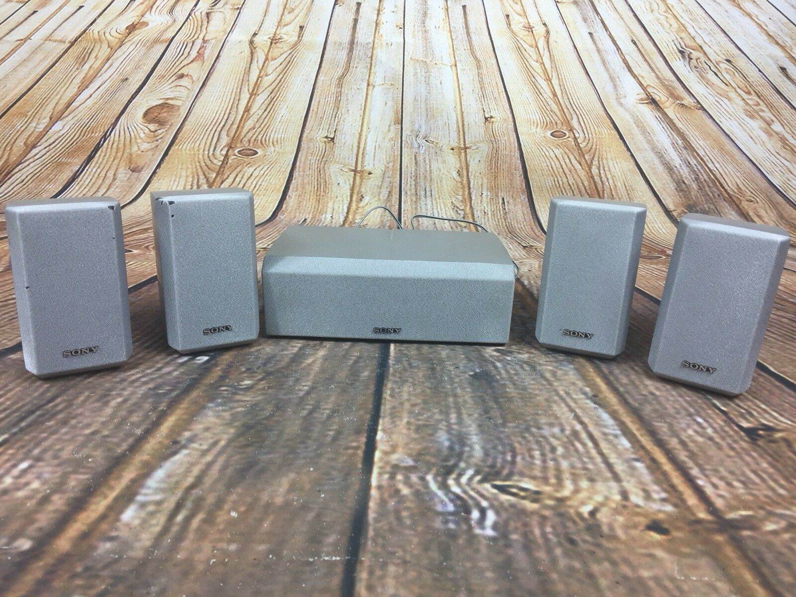 Sony SS-CNP2 Center & SS-MSP2 Surround Sound Stereo Speakers Complete Set Of 5