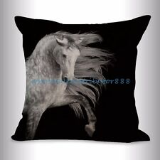 US SELLER- accessories for home decor equine horse equestrian cushion cover
