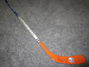 NICK LEDDY New York Islanders SIGNED Autographed Hockey Stick w/ COA