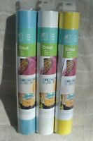 Cricut® (3) Vinyl Rolls In sky Blue, Linen & Sunshine