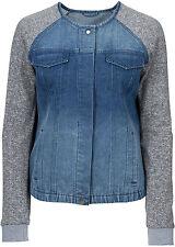Auffällige Jeansjacke mit schmaler Silhouette Gr.38