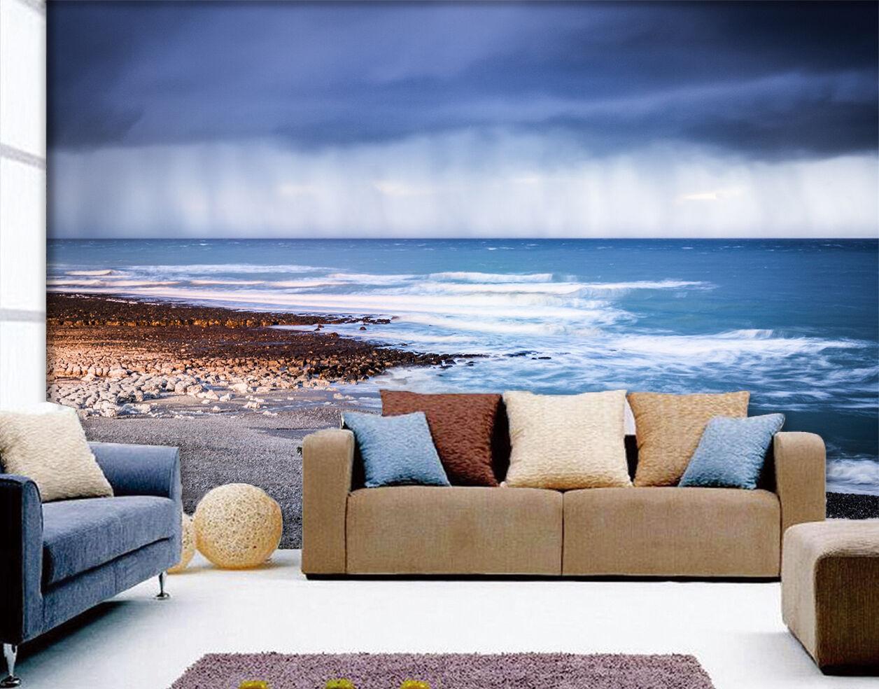 3D Meer Küsten 8 Fototapeten Wandbild Fototapete Bild Tapete Familie Kinder