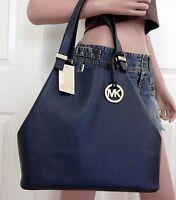 Michael Kors Tasche/Handtasche/Bag Colgate LG Grab Shoulder Hobo Navy  NEU