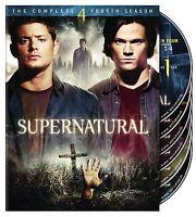 Supernatural: Season 4 Dvd - The Complete Fourth Season [6 Discs] -