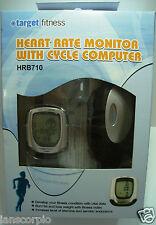 Target Fitness-Cardiofrequenzimetro con Cycle Computer con una staffa HRB710