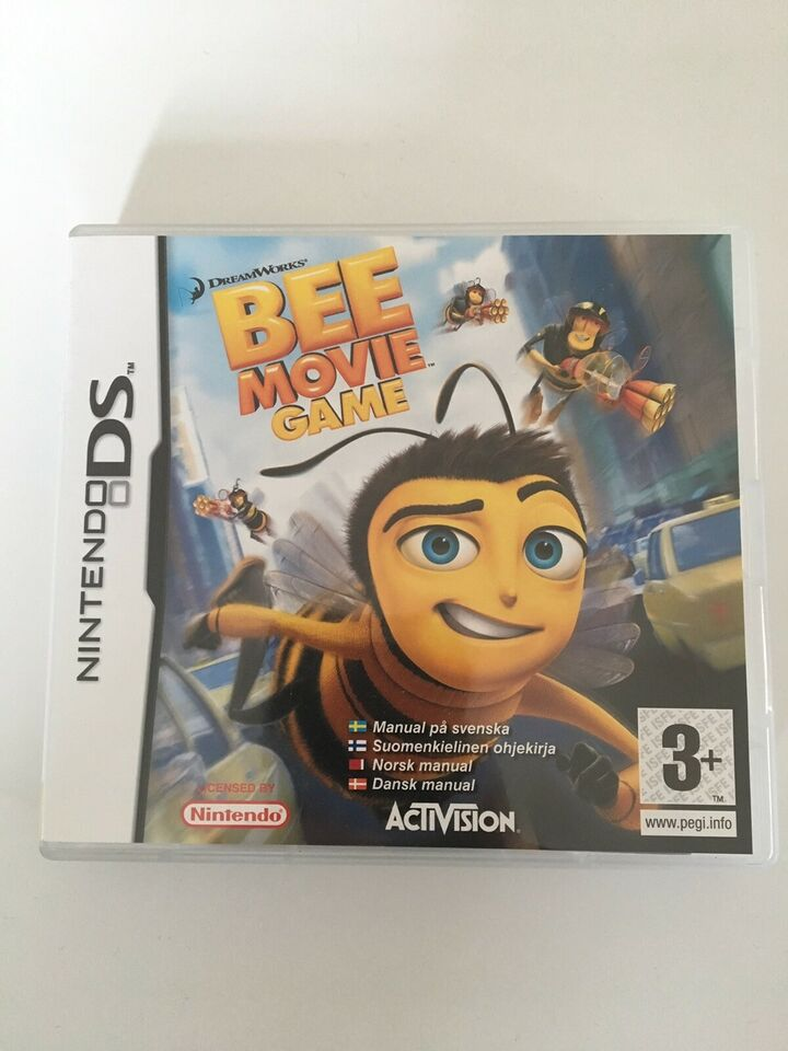 Bee Movie Game, Nintendo DS, adventure