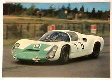 Cartolina Porsche 2200 Auto Da Corsa - Retro Con Scritture