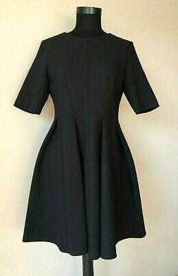Cos Damen Schwarz Winter Kleid Gr 40 Ebay