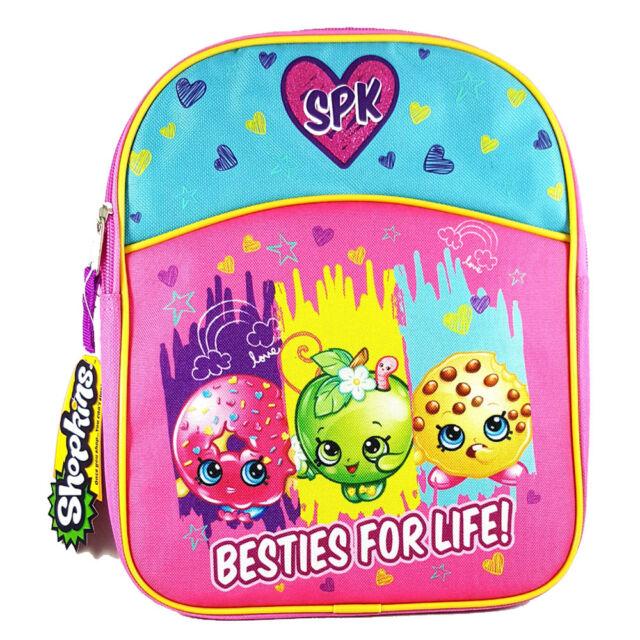 Kids Backpacks Shopkins Girls Mini Backpack Purple Pink Ebay