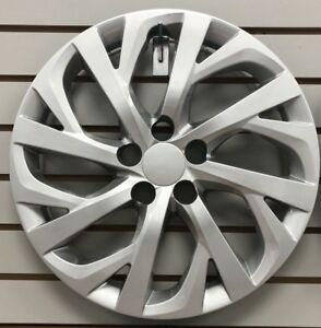 NEW-2017-2018-2019-TOYOTA-COROLLA-16-034-SILVER-Hubcap-Wheelcover