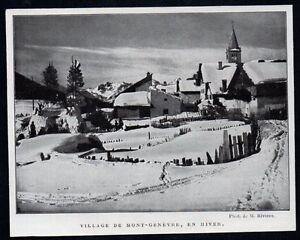 1928-VILLAGE-DE-MONTGENEVRE-EN-HIVER-3M406