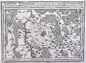 Antique-map-Memmingen